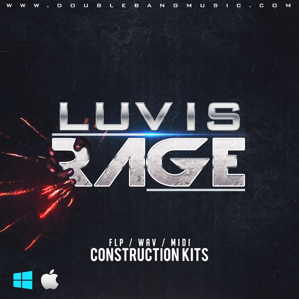 Luv is Rage - Sonic Sound Supply - drum kits, construction kits, vst, loops and samples, free producer kits, producer sounds, make beats