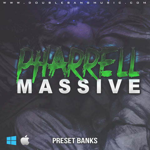 Pharrell (Massive Preset Bank) - Sonic Sound Supply - drum kits, construction kits, vst, loops and samples, free producer kits, producer sounds, make beats