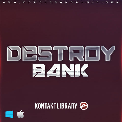 DESTROY BANK - Sonic Sound Supply - drum kits, construction kits, vst, loops and samples, free producer kits, producer sounds, make beats