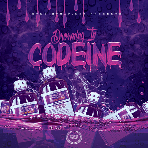 Drowning In Codeine - Sonic Sound Supply - drum kits, construction kits, vst, loops and samples, free producer kits, producer sounds, make beats