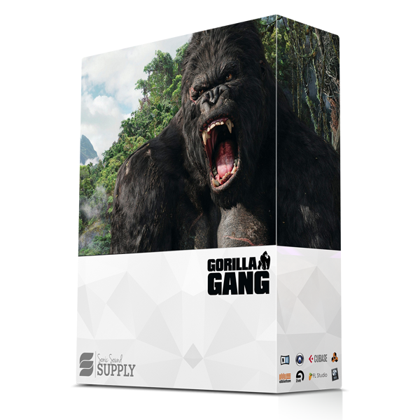 Gorilla Gang - Sonic Sound Supply - drum kits, construction kits, vst, loops and samples, free producer kits, producer sounds, make beats