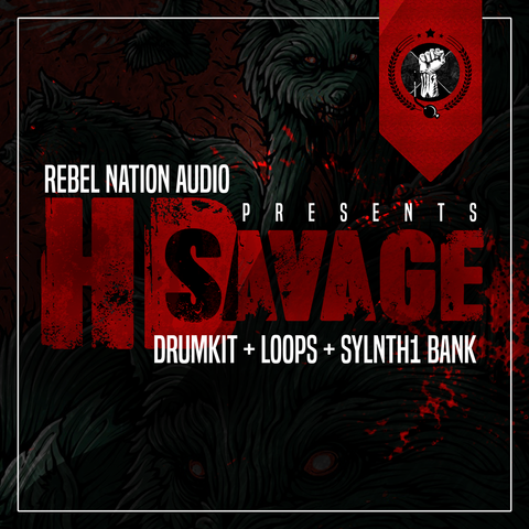 HD SAVAGE - Combo Kit - Sonic Sound Supply - drum kits, construction kits, vst, loops and samples, free producer kits, producer sounds, make beats