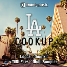 Load image into Gallery viewer, LA COOKUP - Sonic Sound Supply - drum kits, construction kits, vst, loops and samples, free producer kits, producer sounds, make beats
