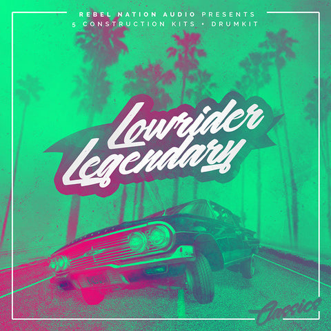 Lowrider Legendary - Sonic Sound Supply - drum kits, construction kits, vst, loops and samples, free producer kits, producer sounds, make beats