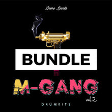 Load image into Gallery viewer, M-GANG BUNDLE - Sonic Sound Supply - drum kits, construction kits, vst, loops and samples, free producer kits, producer sounds, make beats