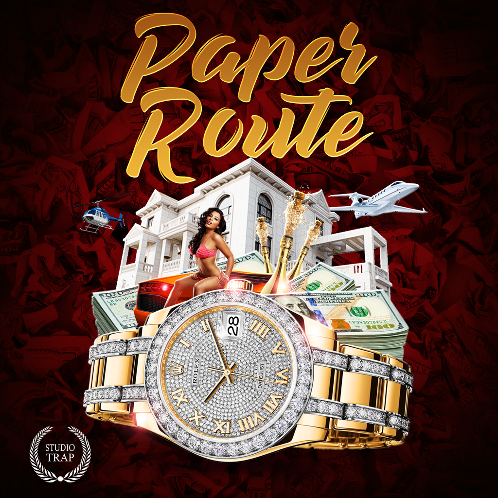 Paper Route - Sonic Sound Supply - drum kits, construction kits, vst, loops and samples, free producer kits, producer sounds, make beats