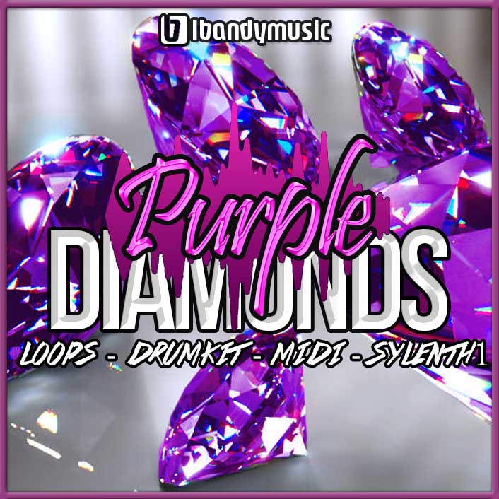PURPLE DIAMONDS - Sonic Sound Supply - drum kits, construction kits, vst, loops and samples, free producer kits, producer sounds, make beats