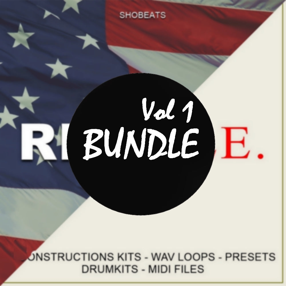 BUNDLE . Vol 1 - Sonic Sound Supply - drum kits, construction kits, vst, loops and samples, free producer kits, producer sounds, make beats