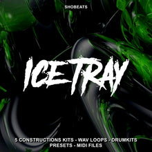 Load image into Gallery viewer, ICE TRAY - Sonic Sound Supply - drum kits, construction kits, vst, loops and samples, free producer kits, producer sounds, make beats