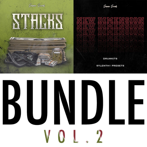 Bundle Vol.2 - Sonic Sound Supply - drum kits, construction kits, vst, loops and samples, free producer kits, producer sounds, make beats