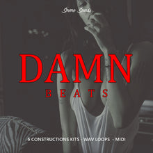 Load image into Gallery viewer, DAMN BEATS - Sonic Sound Supply - drum kits, construction kits, vst, loops and samples, free producer kits, producer sounds, make beats