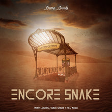 Load image into Gallery viewer, ENCORE SNAKE - Sonic Sound Supply - drum kits, construction kits, vst, loops and samples, free producer kits, producer sounds, make beats