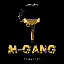 Load image into Gallery viewer, M-GANG Drumkits - Sonic Sound Supply - drum kits, construction kits, vst, loops and samples, free producer kits, producer sounds, make beats