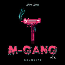Load image into Gallery viewer, M-GANG Drumkits vol.2 - Sonic Sound Supply - drum kits, construction kits, vst, loops and samples, free producer kits, producer sounds, make beats