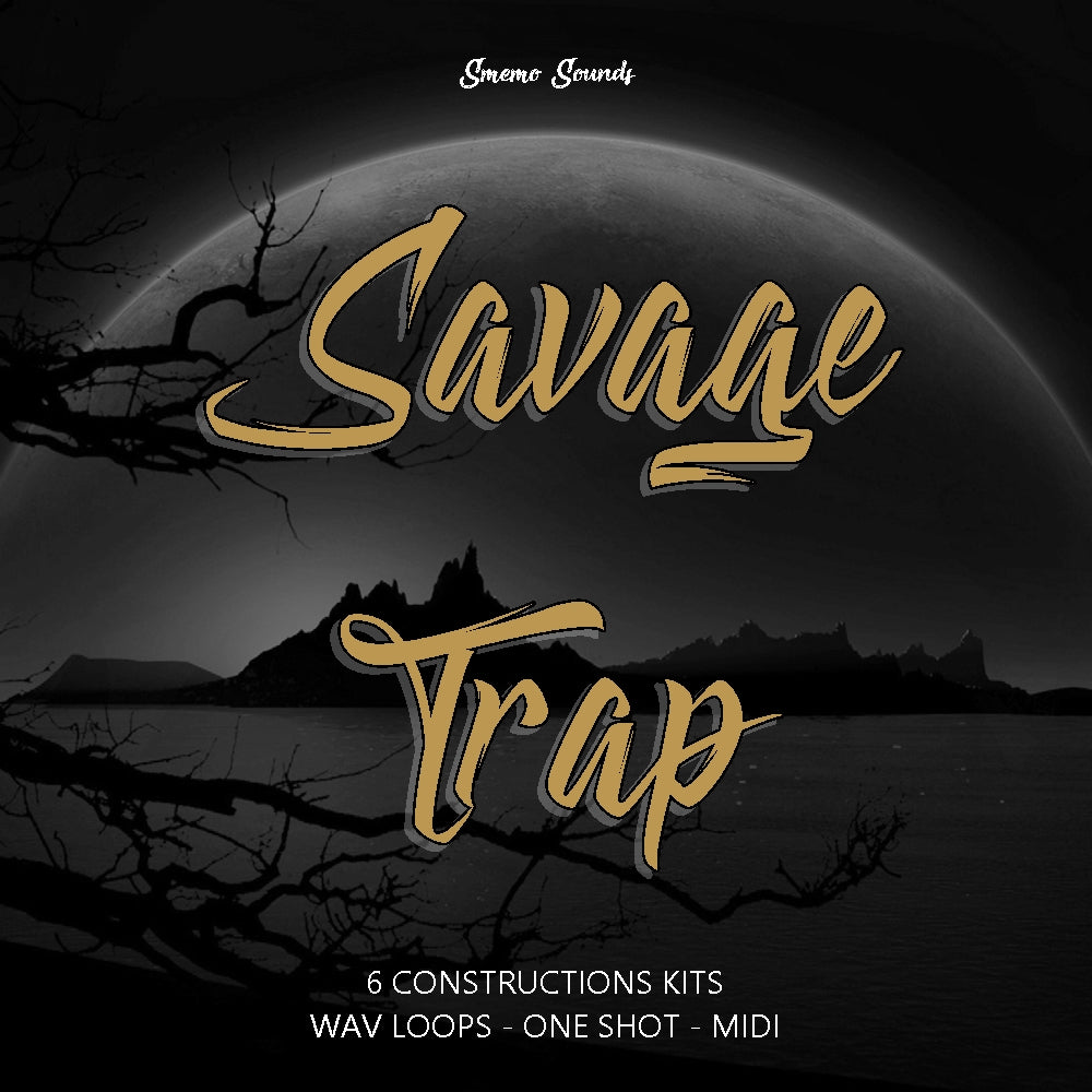 SAVAGE TRAP - Sonic Sound Supply - drum kits, construction kits, vst, loops and samples, free producer kits, producer sounds, make beats