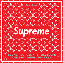 Load image into Gallery viewer, SUPREME - Sonic Sound Supply - drum kits, construction kits, vst, loops and samples, free producer kits, producer sounds, make beats