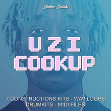 Load image into Gallery viewer, UZI Cookup - Sonic Sound Supply - drum kits, construction kits, vst, loops and samples, free producer kits, producer sounds, make beats