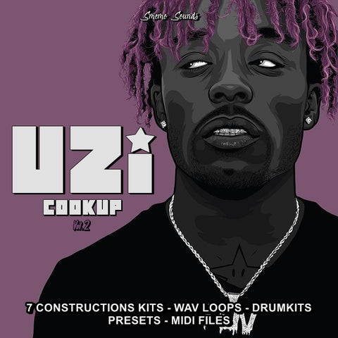 UZI Cookup Vol. 2 - Sonic Sound Supply - drum kits, construction kits, vst, loops and samples, free producer kits, producer sounds, make beats