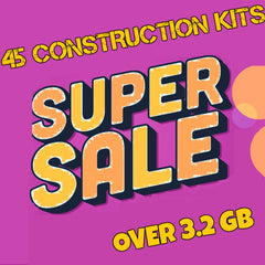 SUPER SALE ( 45 CONSTRUCTION KITS )