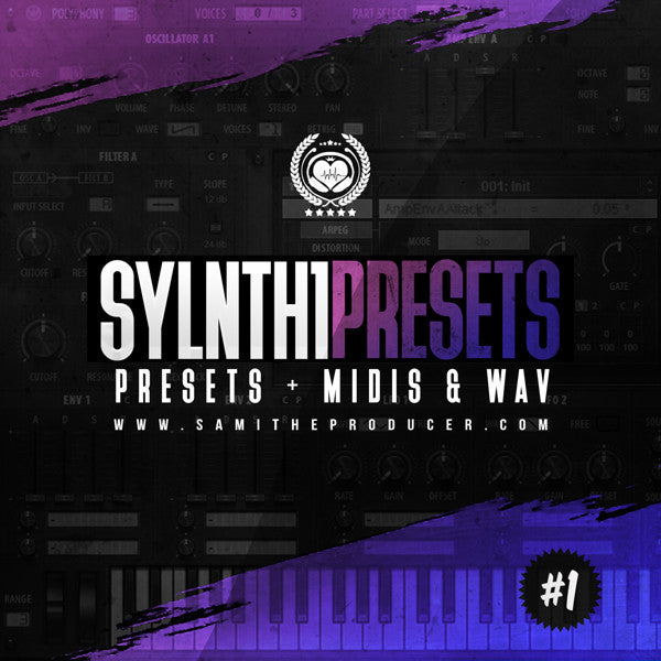 Sylnth1Presets V1 - Sonic Sound Supply - drum kits, construction kits, vst, loops and samples, free producer kits, producer sounds, make beats