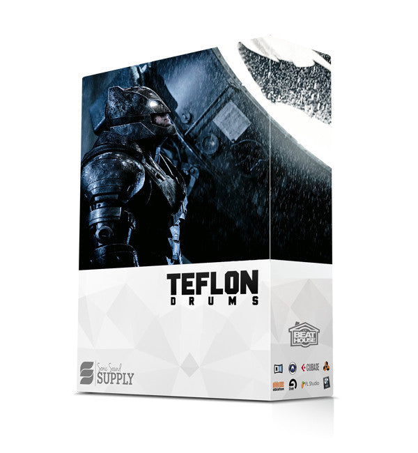 Teflon Drums - Sonic Sound Supply - drum kits, construction kits, vst, loops and samples, free producer kits, producer sounds, make beats