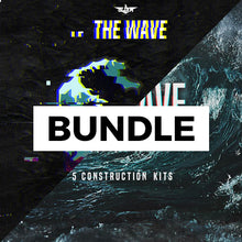 Load image into Gallery viewer, THE WAVE BUNDLE - Sonic Sound Supply - drum kits, construction kits, vst, loops and samples, free producer kits, producer sounds, make beats