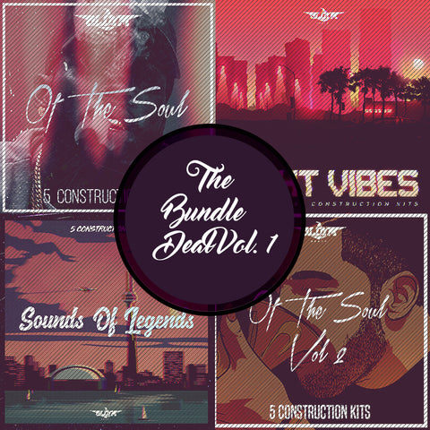 The Bundle Deal Vol 1 - Sonic Sound Supply - drum kits, construction kits, vst, loops and samples, free producer kits, producer sounds, make beats