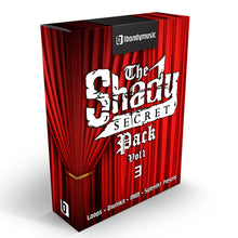 Load image into Gallery viewer, Shady Secret Vol 1 - Sonic Sound Supply - drum kits, construction kits, vst, loops and samples, free producer kits, producer sounds, make beats