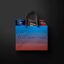 Load image into Gallery viewer, Trap Midi Pack Bundle - Sonic Sound Supply - drum kits, construction kits, vst, loops and samples, free producer kits, producer sounds, make beats