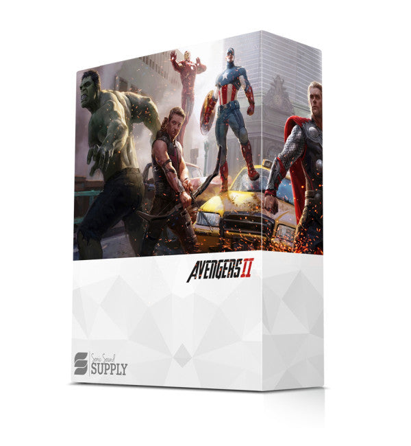 Avengers 2 - Sonic Sound Supply - drum kits, construction kits, vst, loops and samples, free producer kits, producer sounds, make beats
