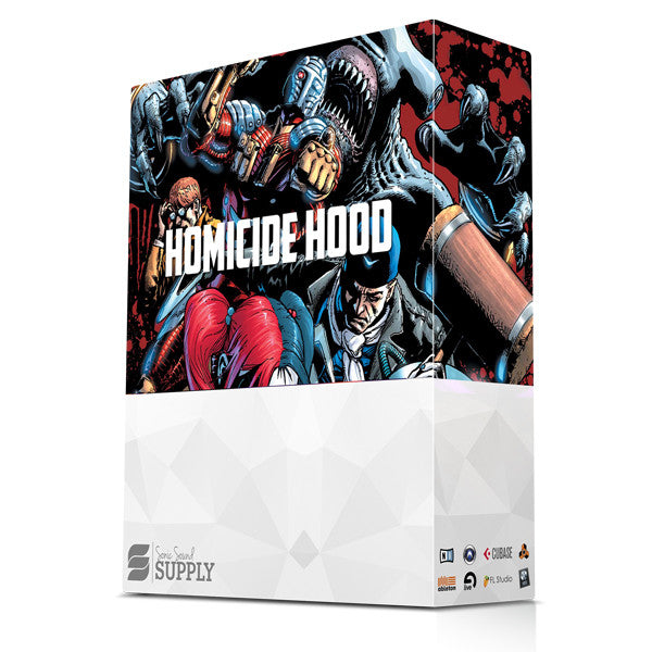 Homicide Hood - Sonic Sound Supply - drum kits, construction kits, vst, loops and samples, free producer kits, producer sounds, make beats