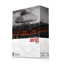 Load image into Gallery viewer, JUSTICE DRUM KIT V1 - Sonic Sound Supply - drum kits, construction kits, vst, loops and samples, free producer kits, producer sounds, make beats