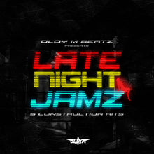 Load image into Gallery viewer, Late Night Jamez - Sonic Sound Supply - drum kits, construction kits, vst, loops and samples, free producer kits, producer sounds, make beats
