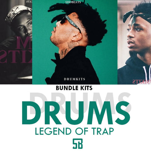 BUNDLE LEGEND OF TRAP (Drumkits)
