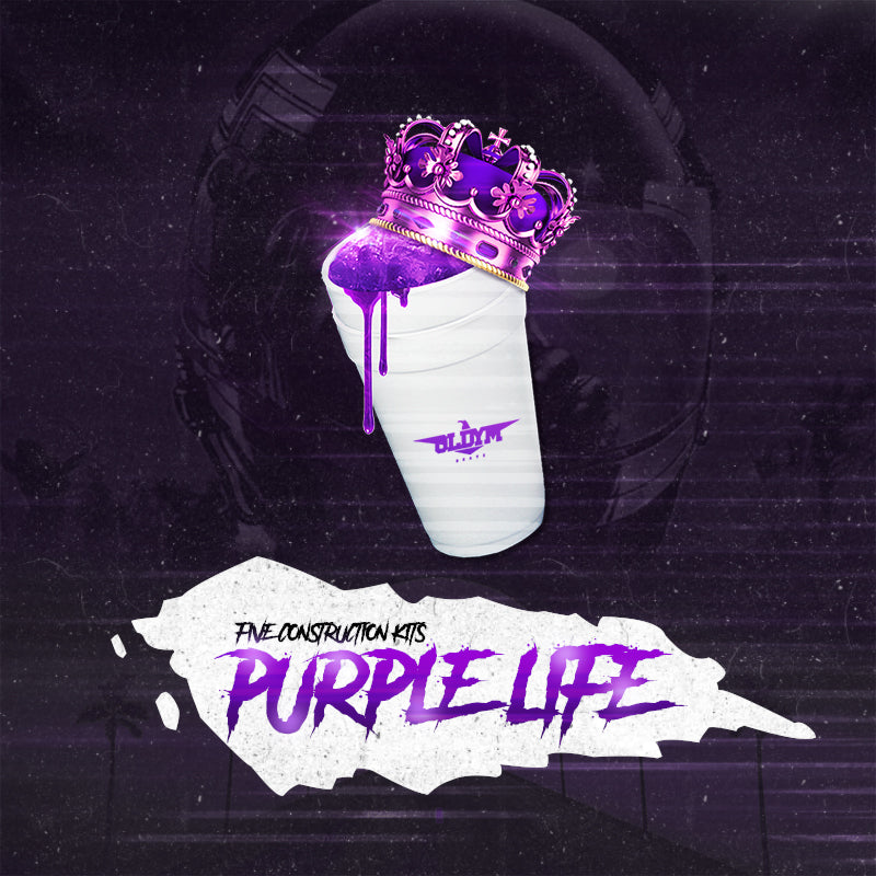 Purple Life - Sonic Sound Supply - drum kits, construction kits, vst, loops and samples, free producer kits, producer sounds, make beats