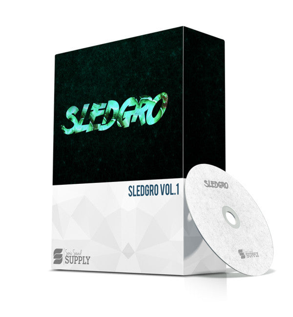 SLEDGRO + BONUS - Sonic Sound Supply - drum kits, construction kits, vst, loops and samples, free producer kits, producer sounds, make beats