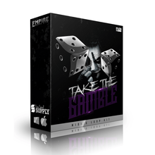 Load image into Gallery viewer, Take the Gamble - Sonic Sound Supply - drum kits, construction kits, vst, loops and samples, free producer kits, producer sounds, make beats