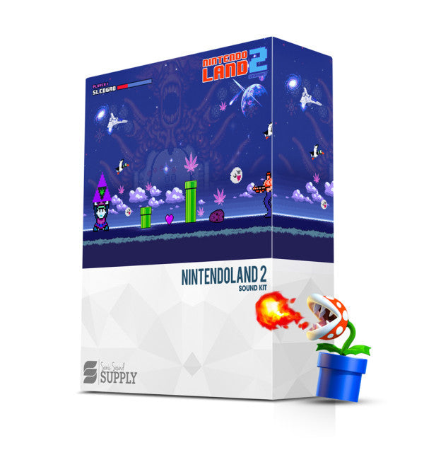 NINTENDO LAND 2 - Sonic Sound Supply - drum kits, construction kits, vst, loops and samples, free producer kits, producer sounds, make beats