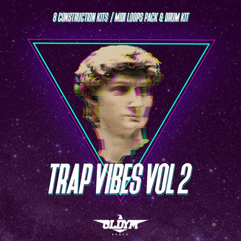 Trap Vibes Vol. 2 - Sonic Sound Supply - drum kits, construction kits, vst, loops and samples, free producer kits, producer sounds, make beats