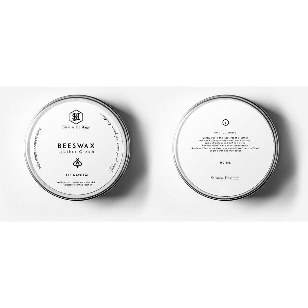 Beeswax Leather Cream - Strauss Heritage