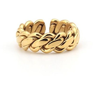 Chain Ring / Gold - Strauss Heritage Ring