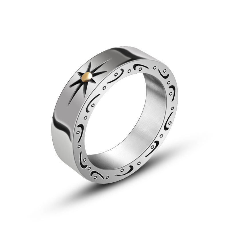 Solaire Ring // Silver - Strauss Heritage Ring