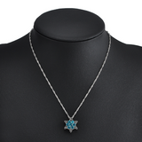 Crystal Snowflake Necklace - Flash Sale!
