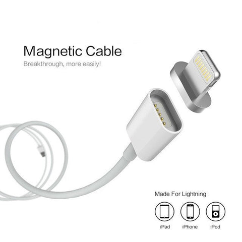 MAGNETIC USB CHARGER FOR IPHONE, IPAD AND IPOD