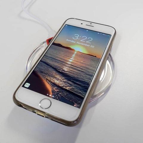 Ghost iPhone Wireless Charger for iPhone 6/6S, 6/6S Plus, 5/5S/5C, 7/7 Plus
