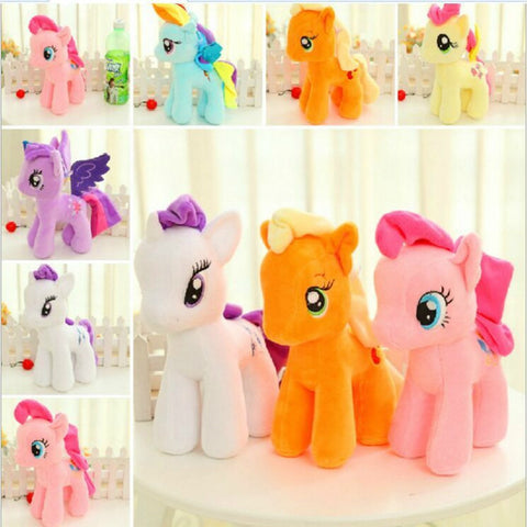 Pastel Colored Pony Plush