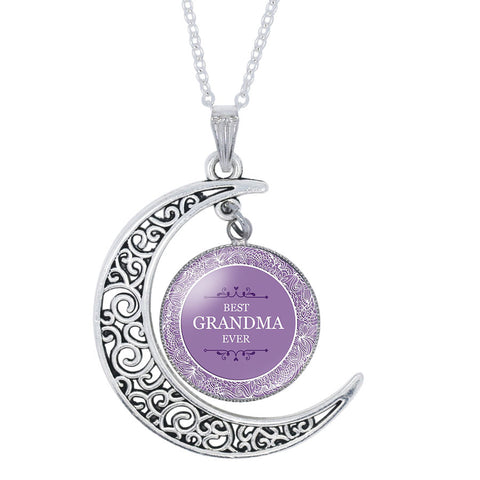 Best Grandma Ever Luna Necklace