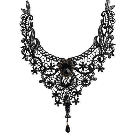 Vintage Gothic  Statement Necklace