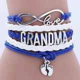 Braided Rope Antique Grandma Bracelet