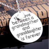 Grandma Love Is Forever Necklace